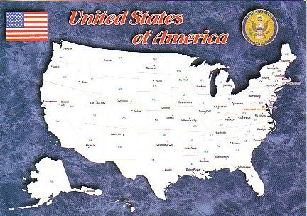 50 romans américains pour 50 états