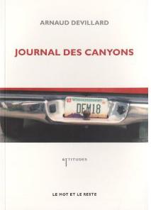 Journal des canyons - Arnaud Devillard.