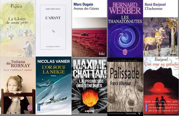 top literature france