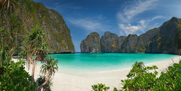 la plage Maya Bay
