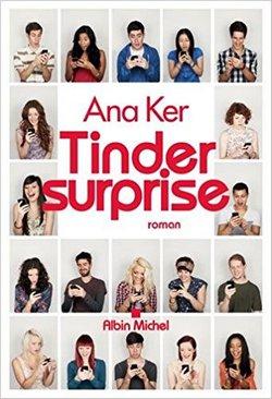 livre Tinder surprise ana ker
