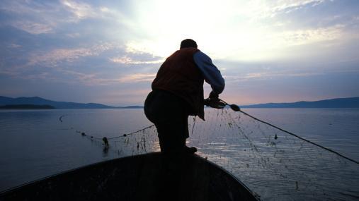un pêcheur sur la rivière Restigouche