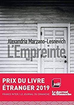 livre L'Empreinte de Alexandria MARZANO-LESNEVICH