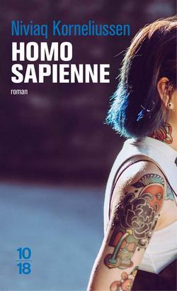 livre Homo Sapienne  de Niviaq Korneliussen